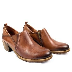 Pikolinos | Baqueira Leather Shoe Boots